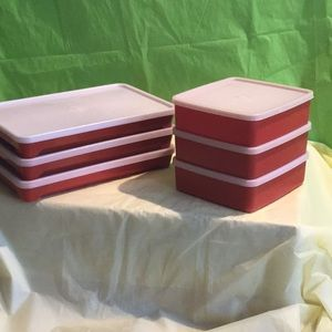12 piece Tupperware Meat/ Sandwich containers